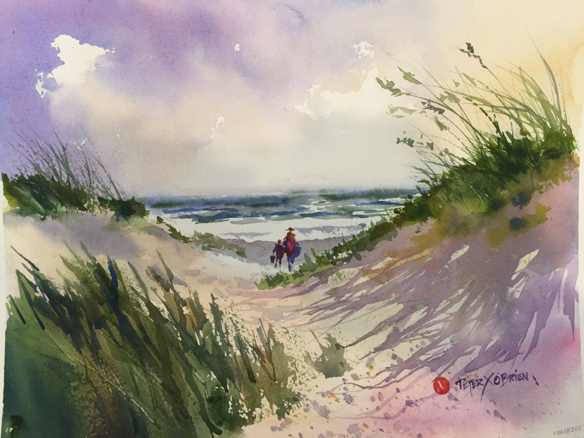 Watercolor Painting Classes Watercolor Paintings Painting Step