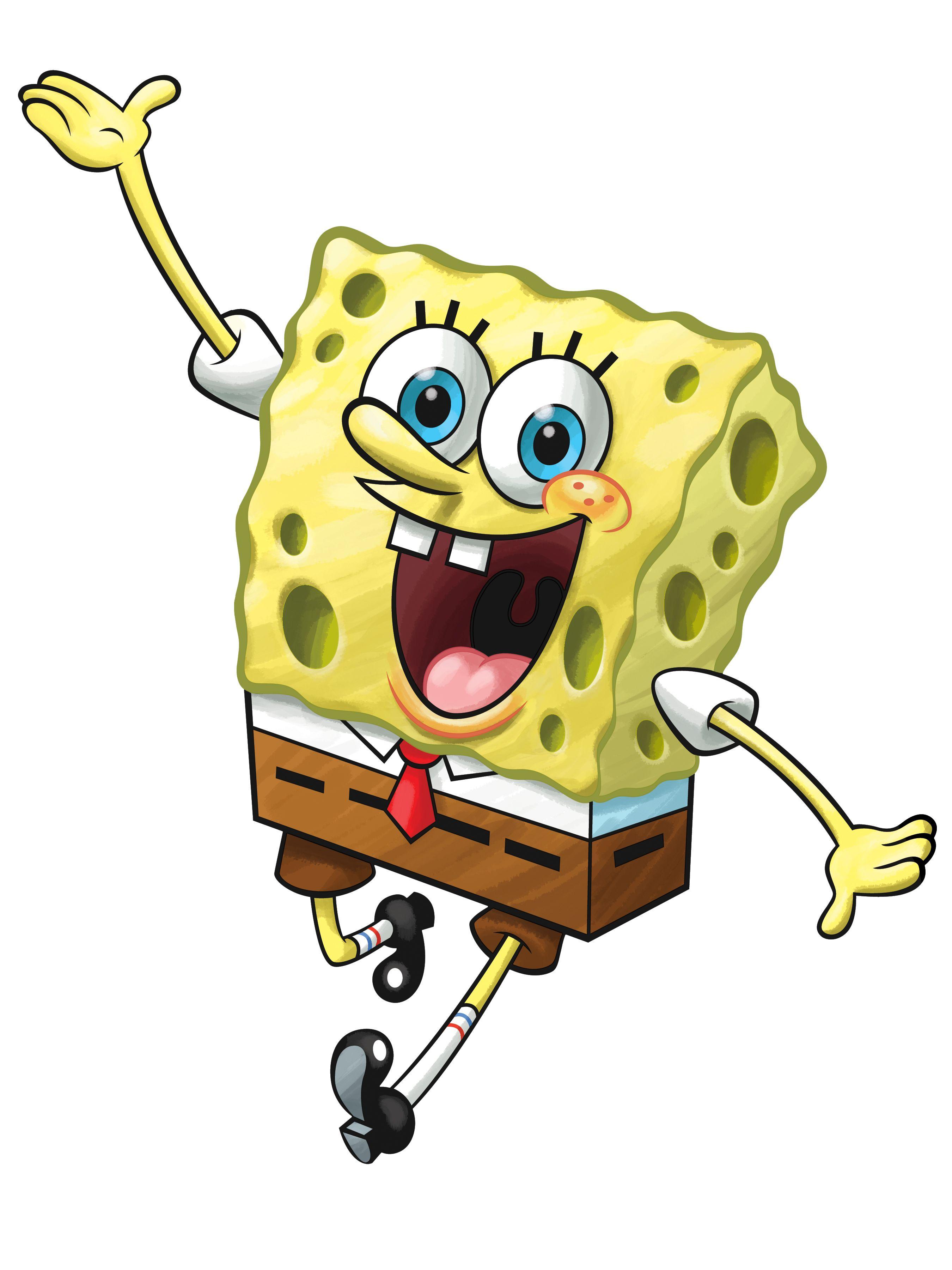 Spongebob Squarepants ... Spongebob Excited Face