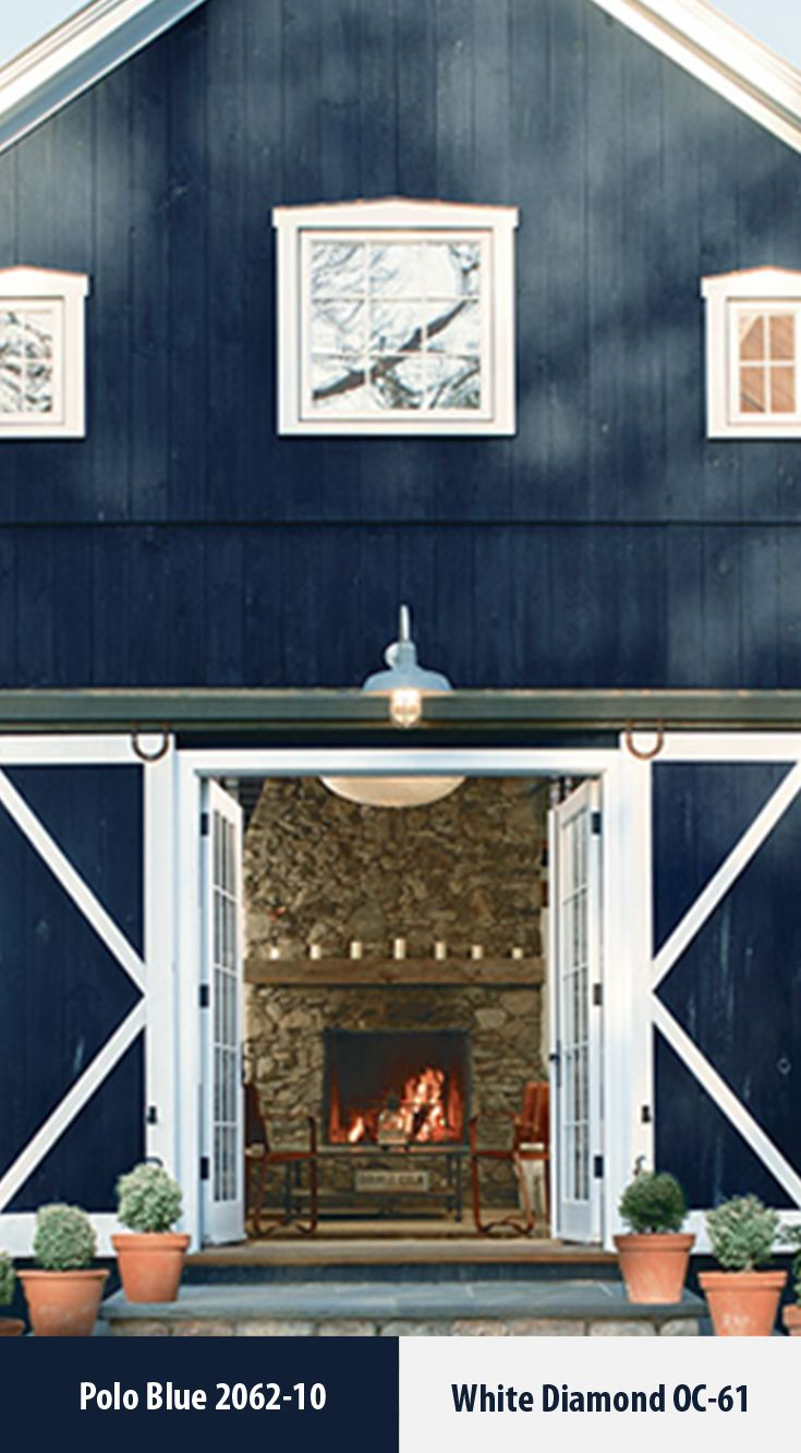 Premium exterior and interior paints and coatings - Exterior paint colors benjamin moore ...