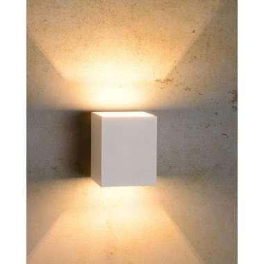 Lucide wandlamp Xera vierkant - wit Leen Bakker ook zwart ...