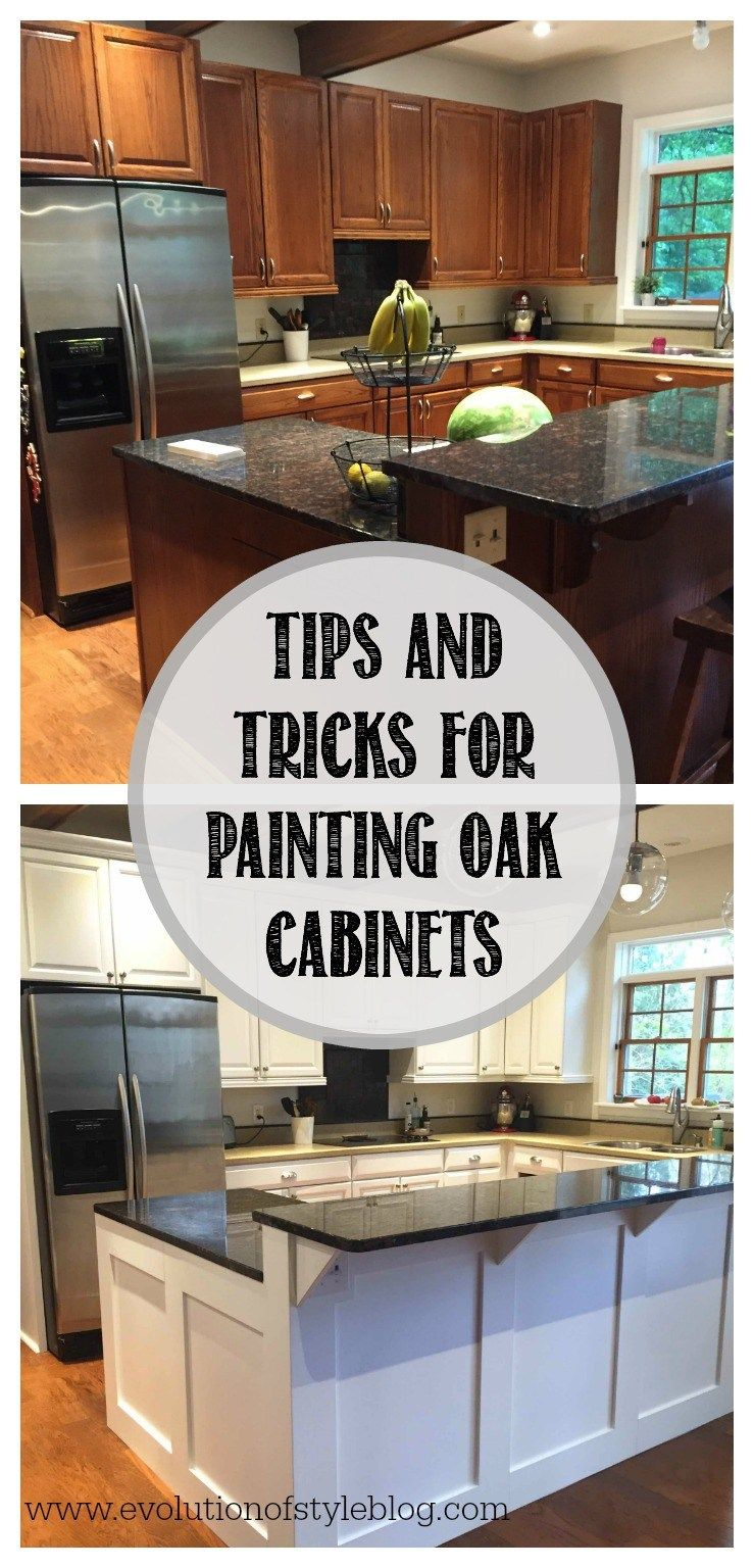 How To Paint Oak Cabinets From A Pro