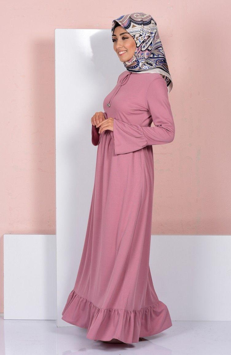 En Yeni Tesettur Elbise Modelleri Ve Fiyatlari Sefamerve Elbise Elbise Modelleri Moda Stilleri