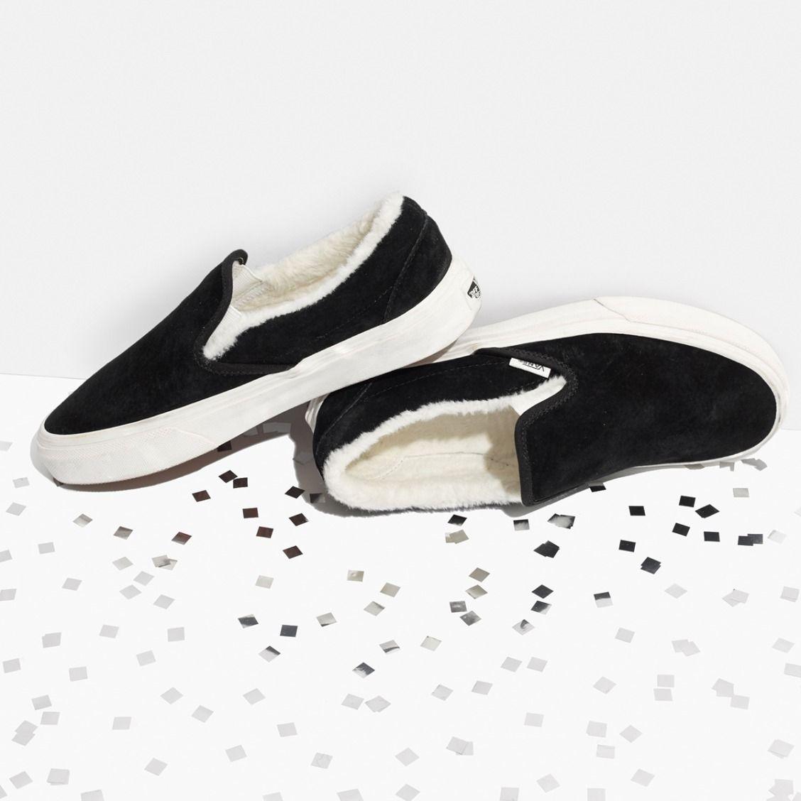 f0bba6c576 madewell vans® weatherized suede slip-on sneakers. Slip On Sneakers