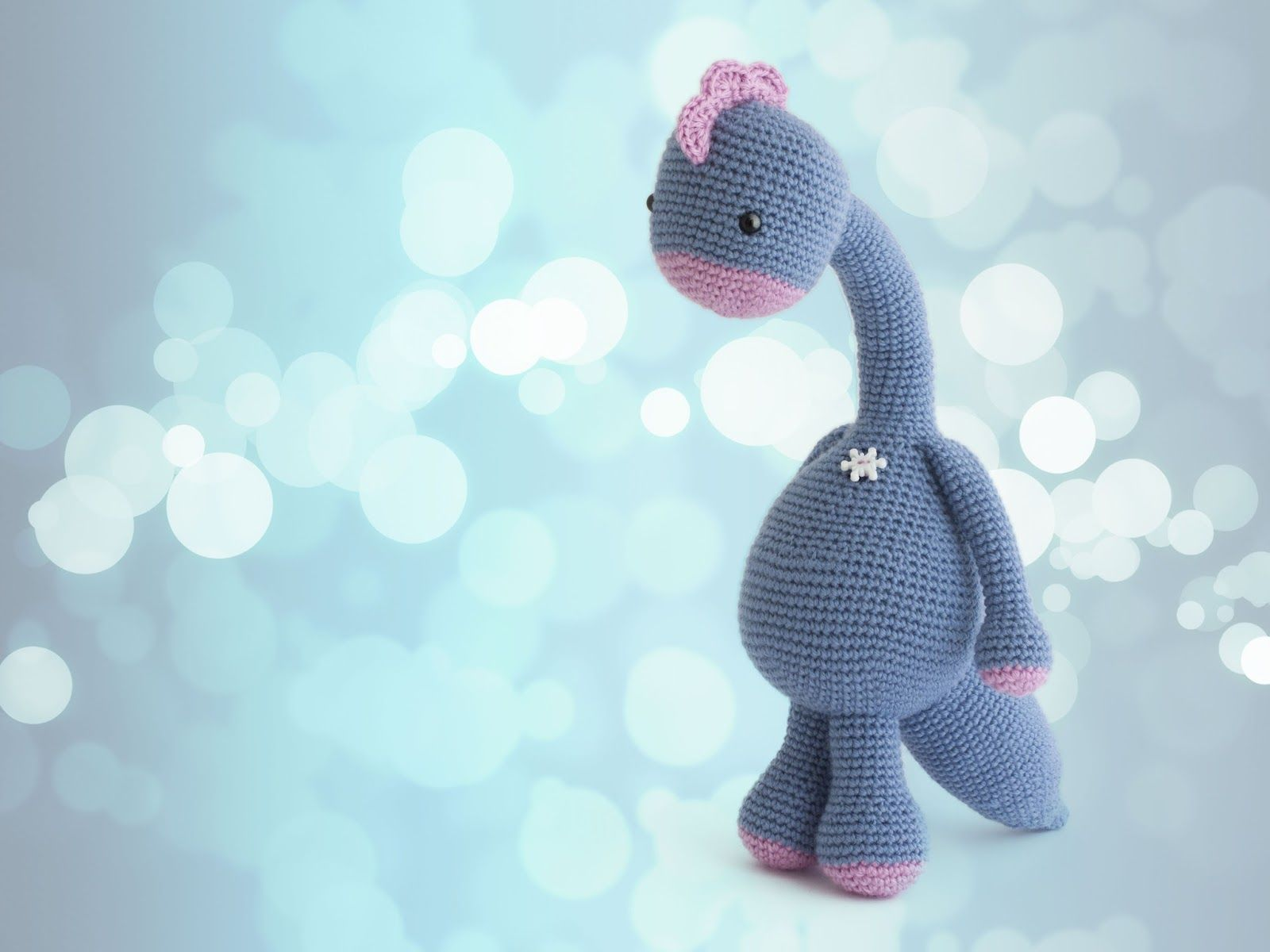 Amigurumi Dinosaurio | Amigurumi dino\'s and dragon\'s | Pinterest ...