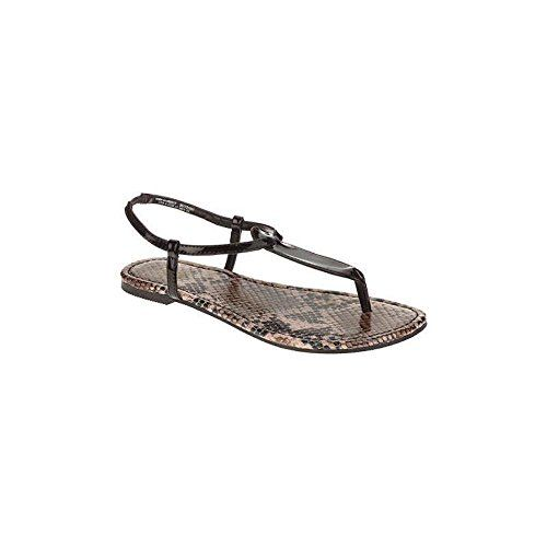 f0add0e0724c6 Faded Glory Womens Shar Thong Sandal 8 BlackSnake   Want to know more
