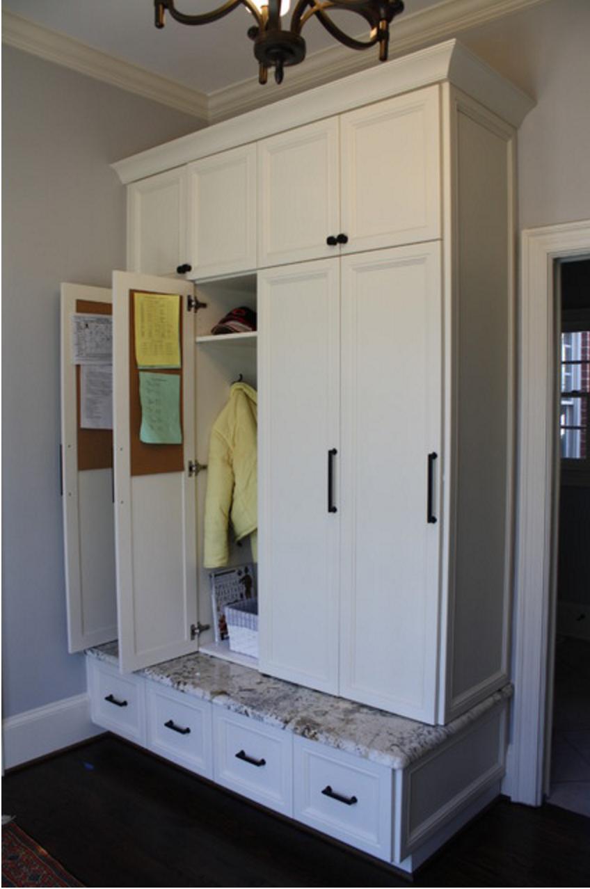 Mudroom lockers with doors diele pinterest