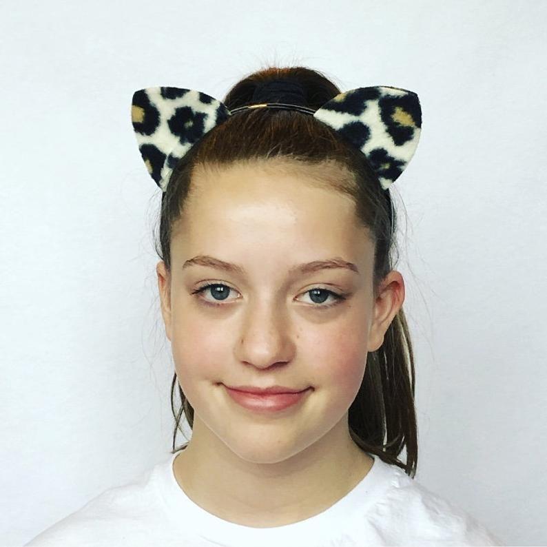 Ladies Zebra Kit Adults Animal Fancy Dress Womans Zoo Outfit Headband Tail