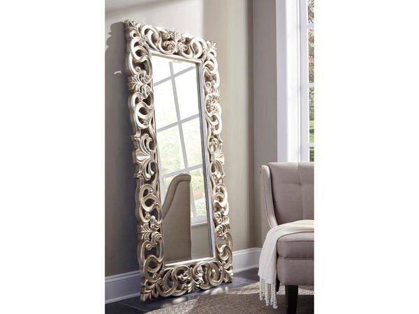 Lucia Accent Antique Floor Mirror La Hacienda Furniture Store Mesquite Tx Accent Mirrors Mirror Decor Living Room Antique Floor Mirror