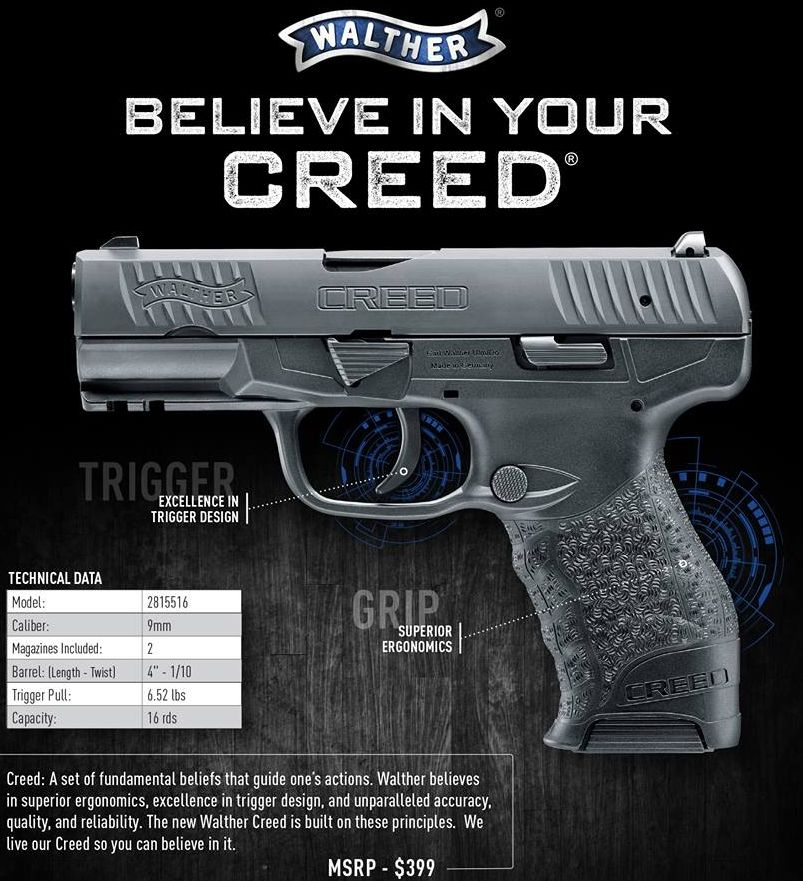 Walther Arms Creed Vs Ppx