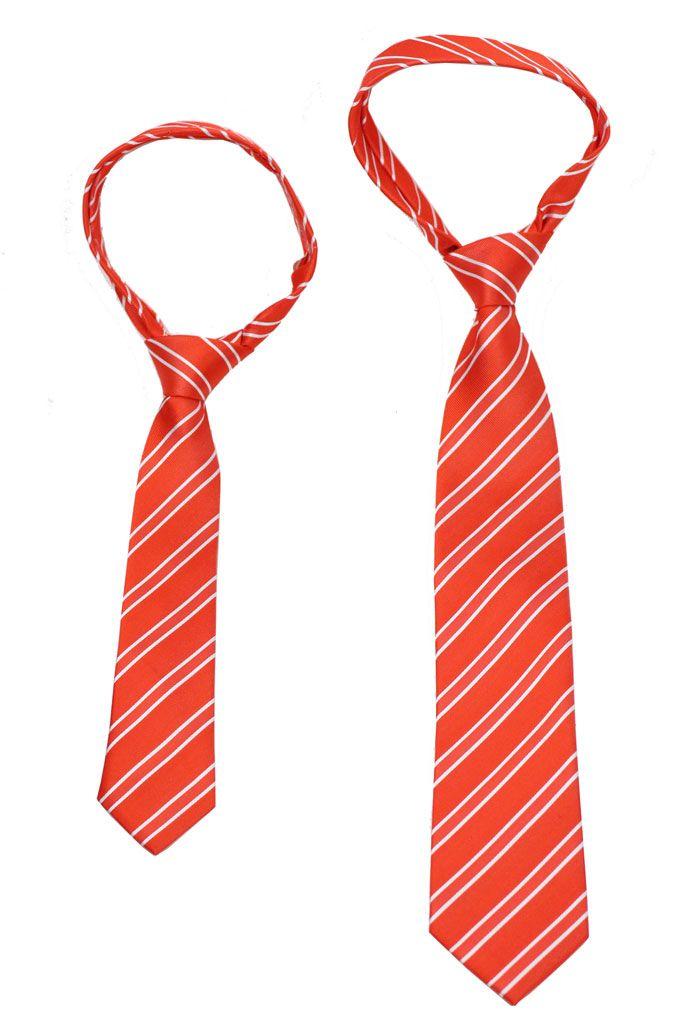 5da46c64155d DIY Boys Sized Necktie - We teach you how to make a kids sized necktie from  a regular sized tie
