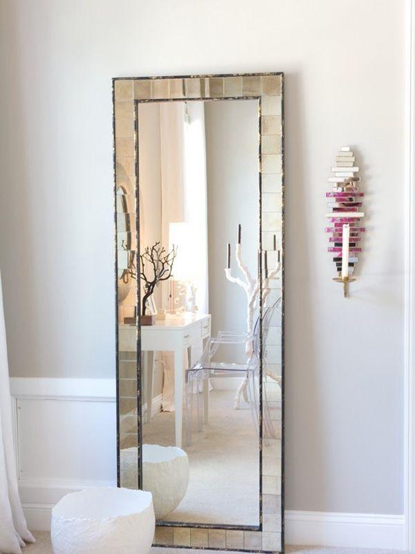 All About Interiors Eclectic Bedroom Design Eclectic Bedroom Floor Length Mirror