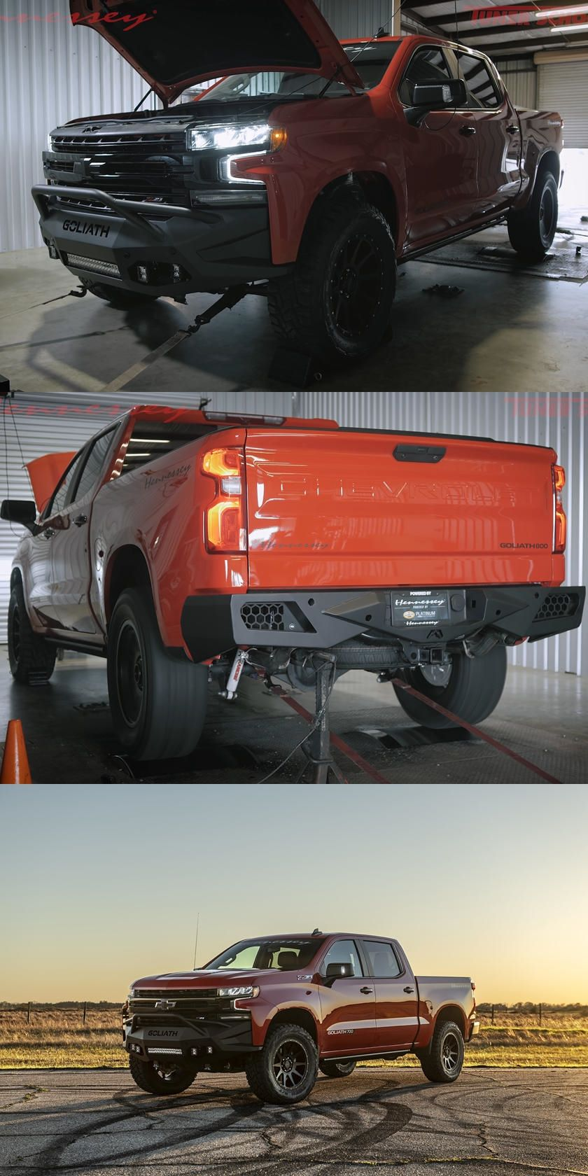This Is The World S Most Powerful 2020 Chevrolet Silverado Find Out How Much Horsepower Hennessey S Modified Chevrolet Chevrolet Silverado Chevrolet Silverado