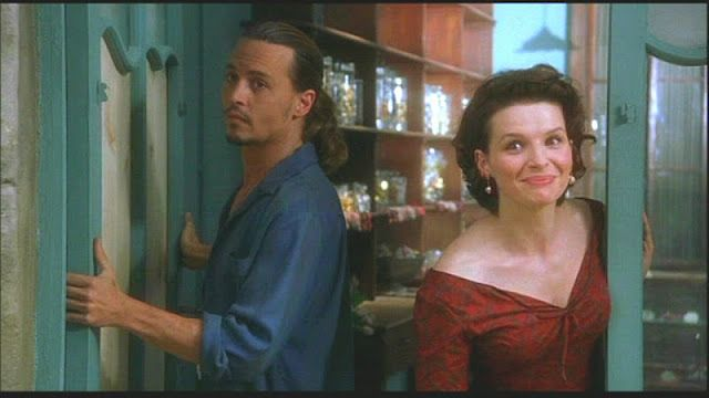 """""""Maybe I should come around sometime and get that squeak out of your door"""" (Chocolat, 2000)"""