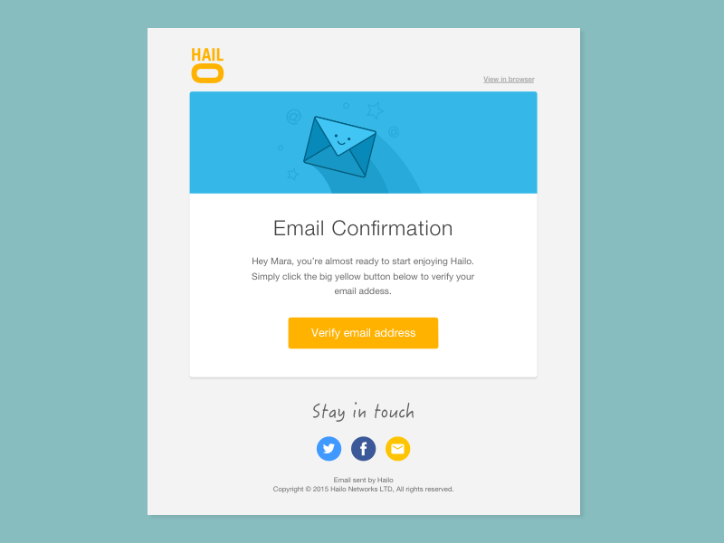 email template design - Email Template