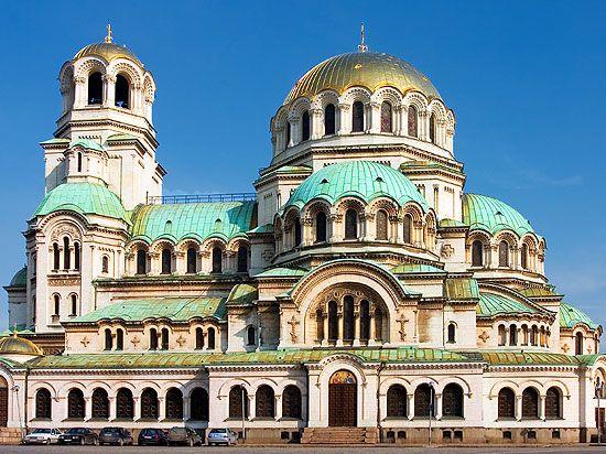 Sehenswürdigkeiten Bulgarien: Alexander Newski Kathedrale in Sofia ...