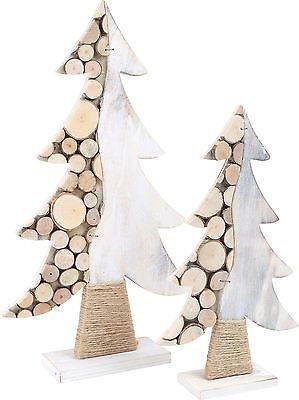 Deko Holztanne Baumscheiben Tann Holz Natur Weihnachtsdeko  Weihnachtsdekoration