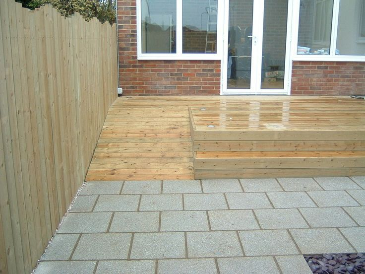 Delightful Patio Design With Wheelchair Ramp