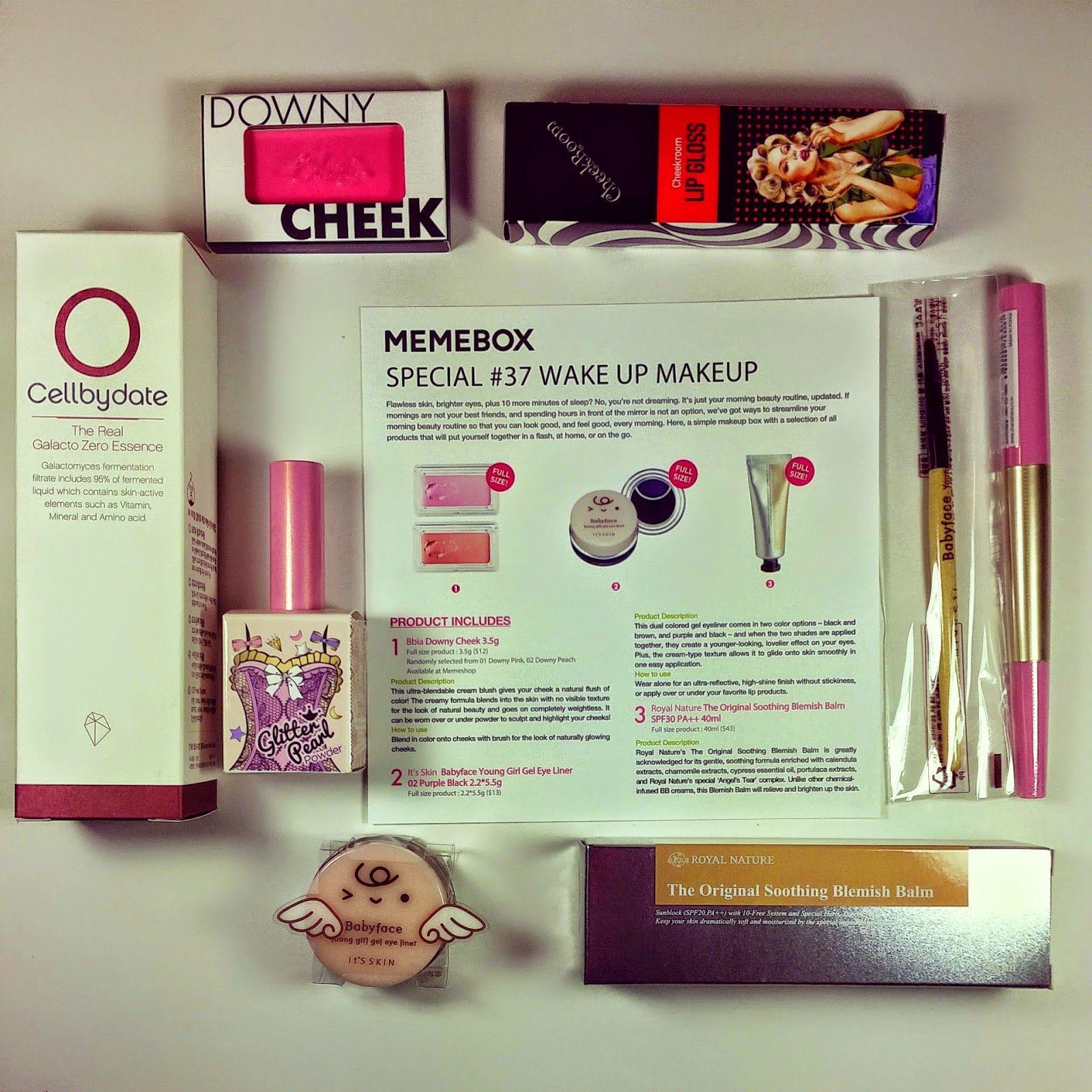 Bits and Boxes: Memebox Wake Up Makeup Review and Coupon