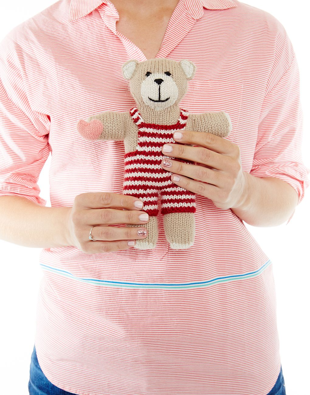 V-Day Teddy Bear {The Little Market}