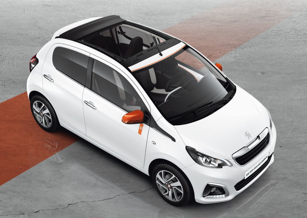 Peugeot 108 Top Roland Garros 2015 Peugeot Roland Garros