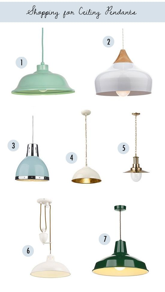 Light up my life: Shopping for ceiling pendants