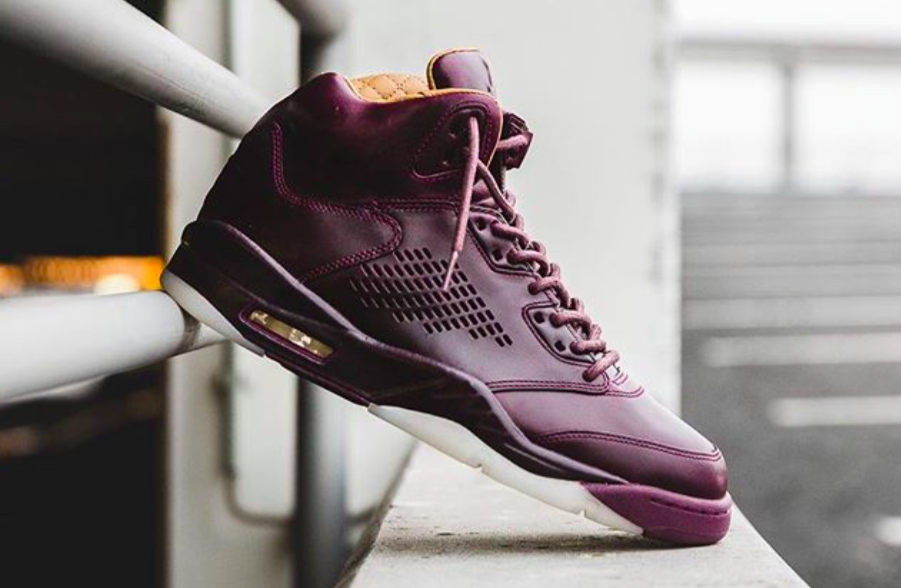 eff50f83a9da6 Get Ready For The Air Jordan 5 Premium Bordeaux