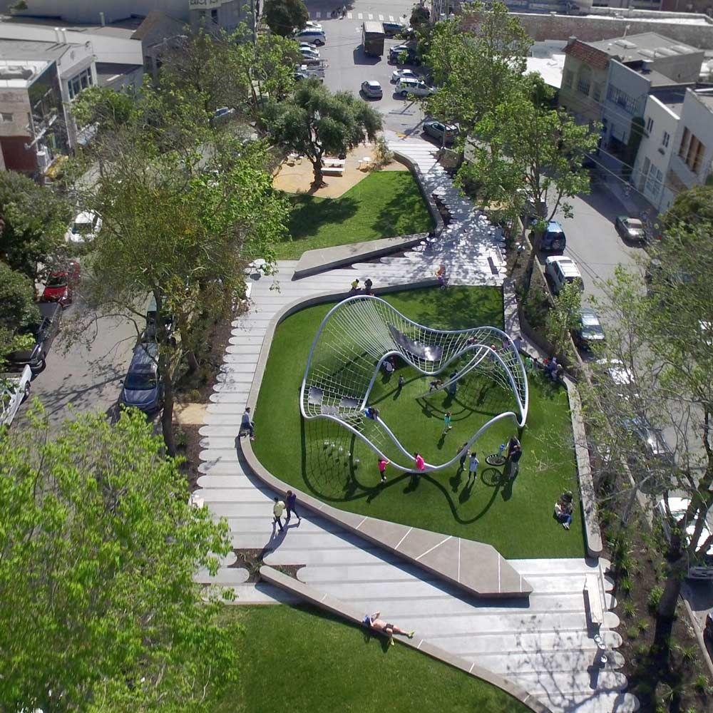 Modern Landscape Architecture: South Park, San Francisco By Fletcher Studio « Landscape