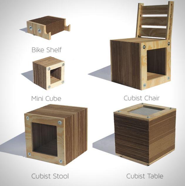 minimalist wood furniture Google Search