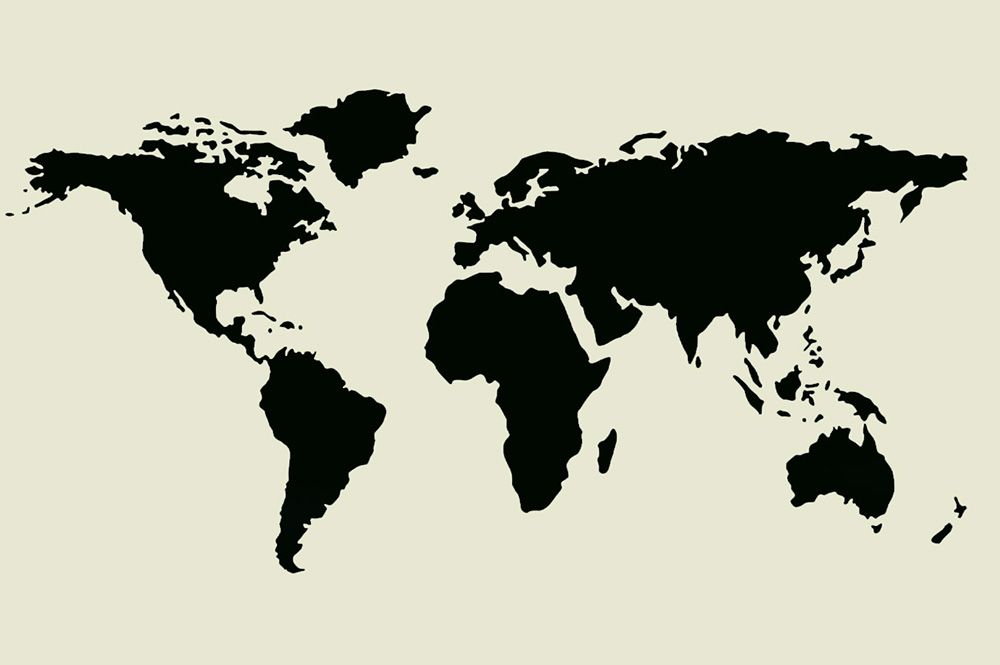 World map stencil various sizes pinterest wall fabric stencil world map laser cut stencil laser cut stencil for walls fabrics furniture can be washed and re used please note the dimesions are for the full sheet gumiabroncs Gallery