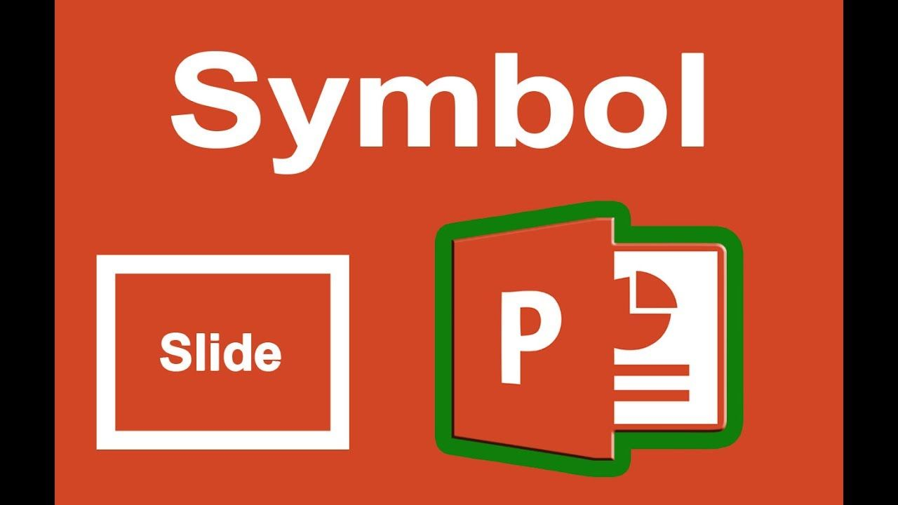 Ppt Tutorial How To Insert A Symbol In Powerpoint Slide 2017