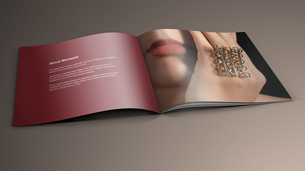 Michaela Fine Jewelry  Kt Gold Jewelry Catalog On Behance
