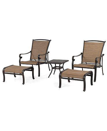 Terrific Paradise Outdoor Patio Furniture 5 Piece Lounge Set 2 Machost Co Dining Chair Design Ideas Machostcouk
