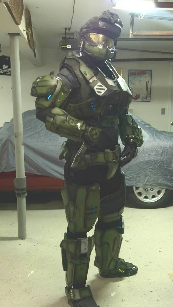 Halo Reach Mark V Armor & Halo Reach Mark V Armor | Halo reach Foam armor and Costumes