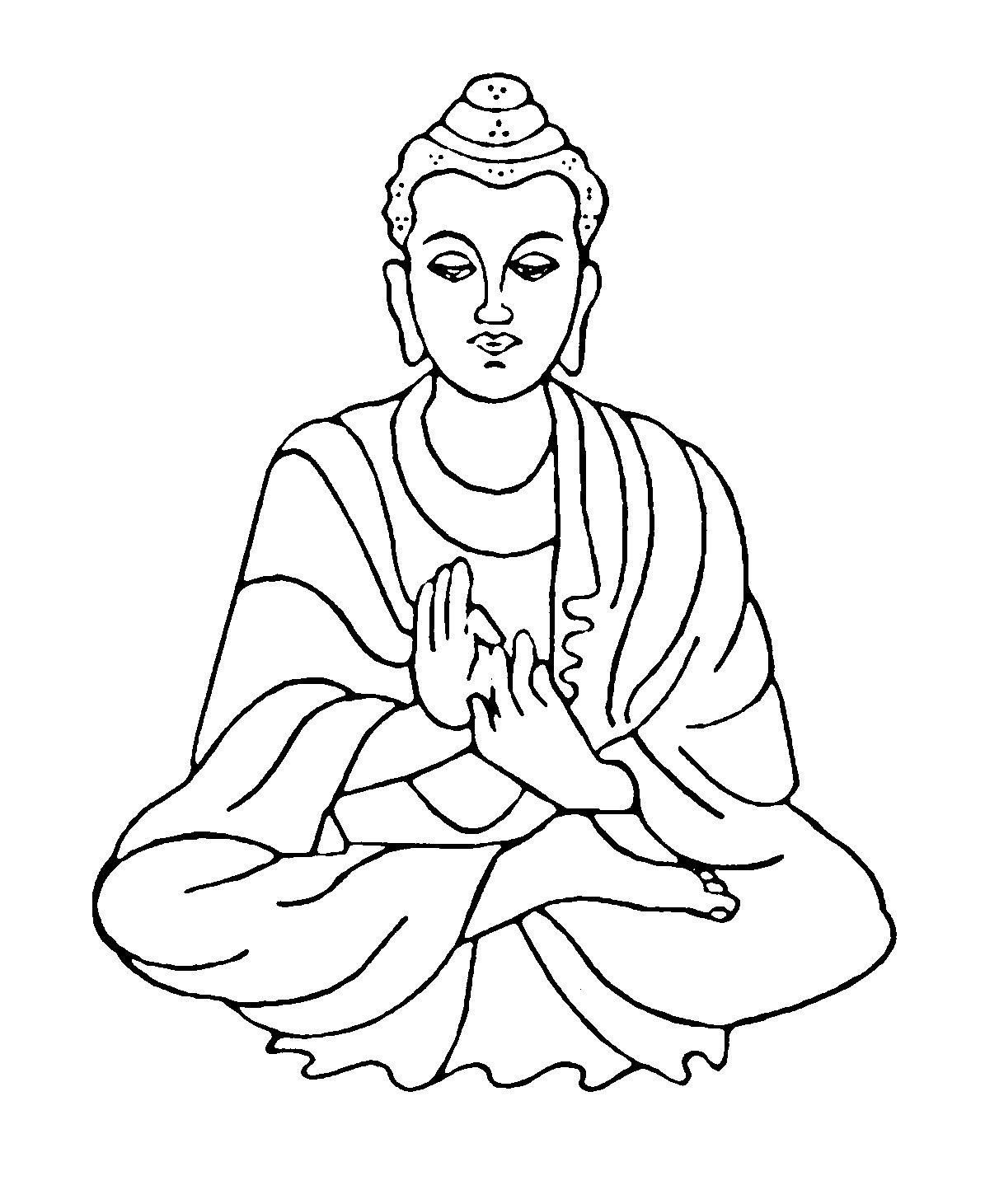 Afbeeldingsresultaat Voor Buddha Mozaiekpatronen Boeddha Kleurplaten