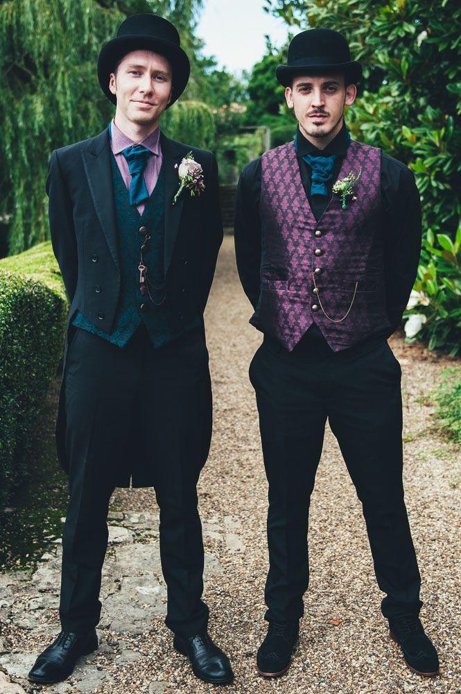 Neo-Victorian Steampunk Wedding: Jojo & Andy | wedding ideas ...