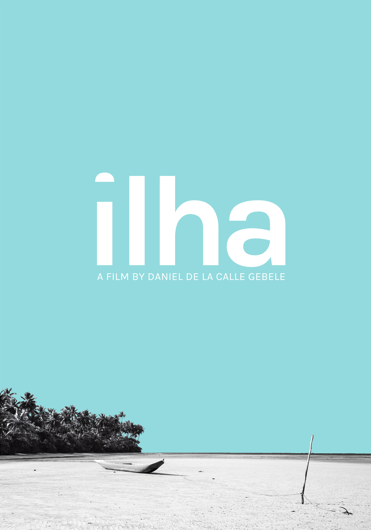 Poster design documentary - Poster Design For Documentary Film Ilha Island Minimal Typography