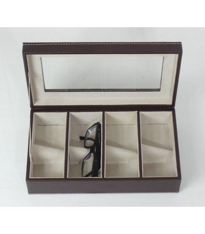 Coffret de Rangement pour 6 Montres en Bois (avec images) | Rangement lunettes, Rangement ...