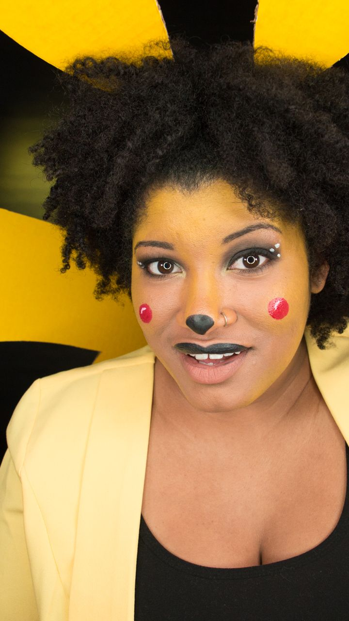 Super easy Pikachu costume http://www.indyhipchic.com/beautyfashion/beauty/costumes-and-cosplay/ihc-costume-series-pikachu/