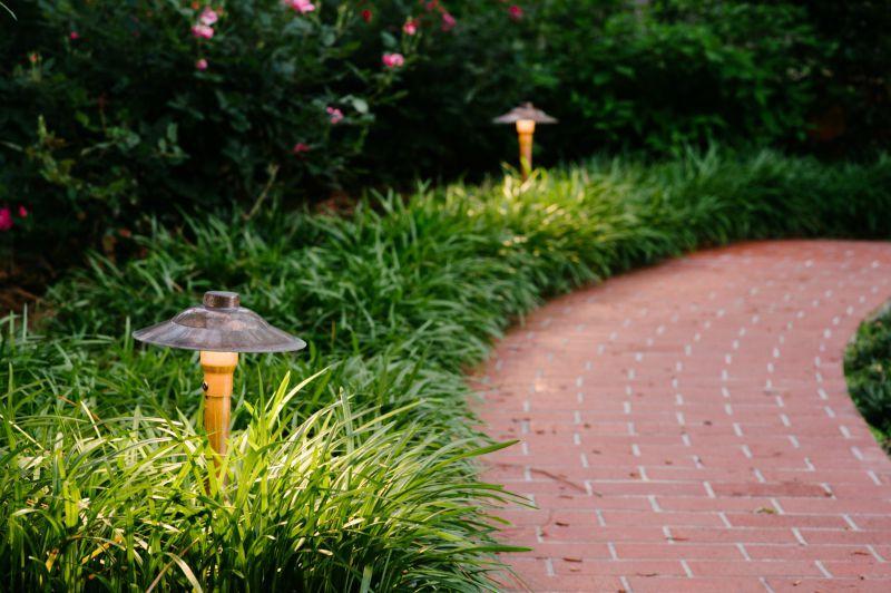 Clarolux Fabriano Series I Copper Path Light W Circular Led G4 Bipin 1 8w 2700k 185 Lm 16 Copp Landscape Lighting Area Lights Outdoor Landscape Lighting