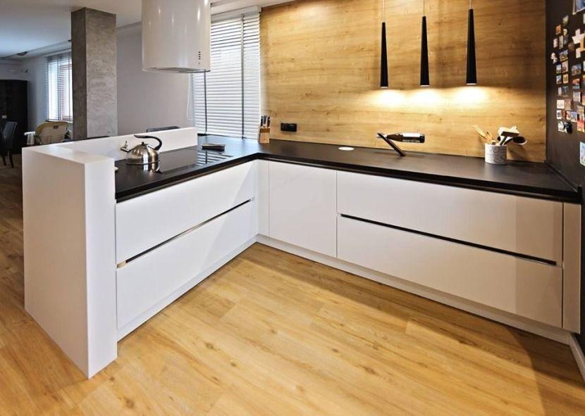 Kuchnia Otwarta Na Salon Plyta Indukcyjna Kitchen Inspiration Design Kitchen Inspirations Kitchen