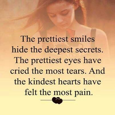 Hiding Behind A Smile Pretty Smile Kind Heart Smile Quotes