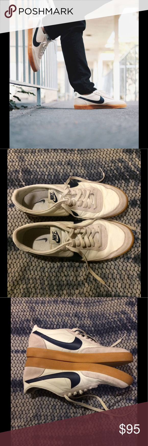 Men's Nike® for J.Crew Killshot 2 sneakers 11 These are in TOP EUC!! My  boyfriend wore them in the house for a day- they were too narrow for him so  he never ...