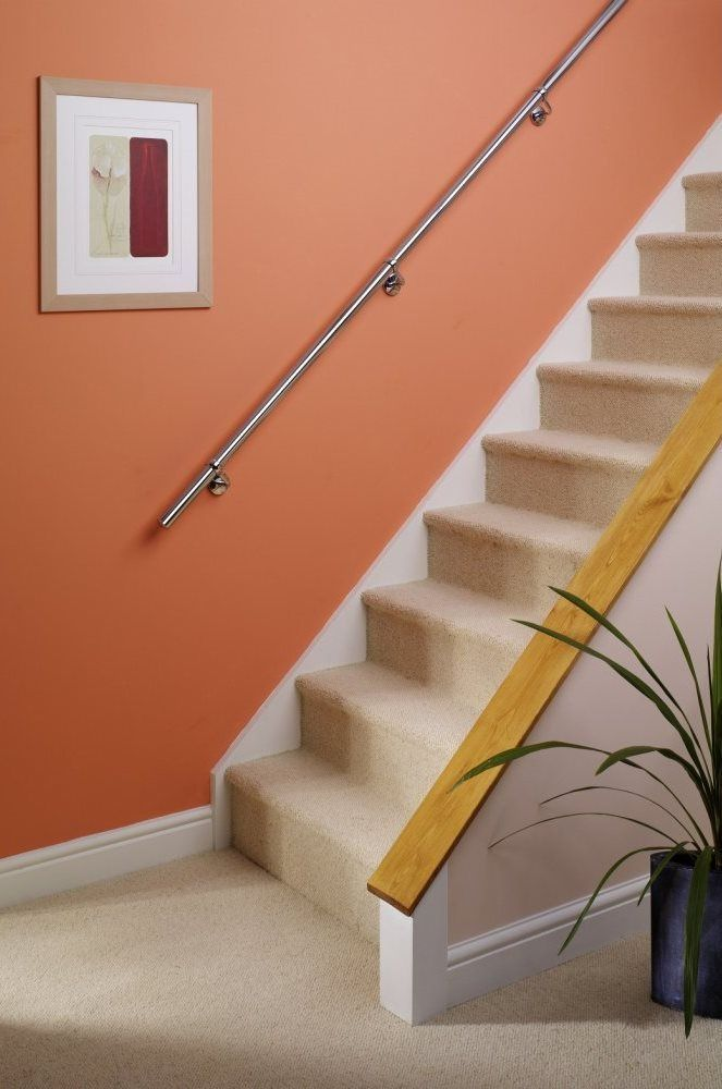 Best Stairs Staircase Handrail Banister Rail Support Kit 3 6M 640 x 480