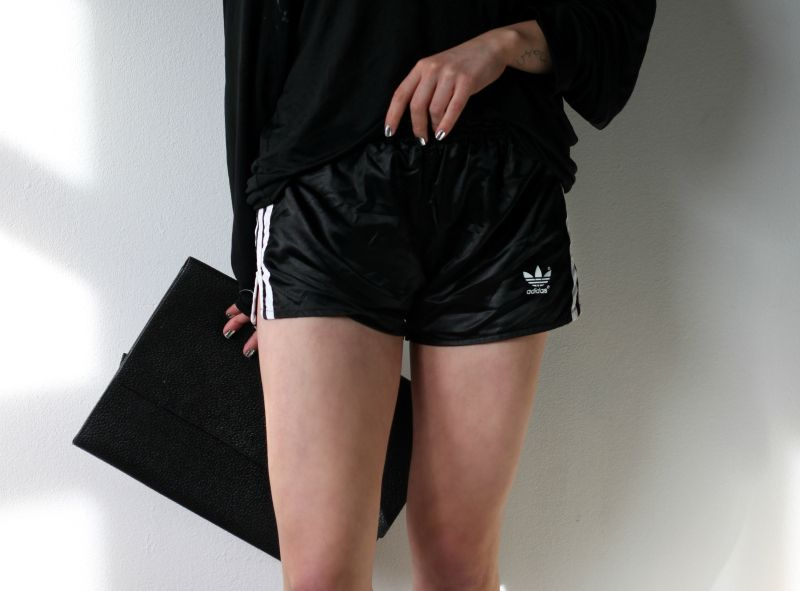 retro adidas shorts