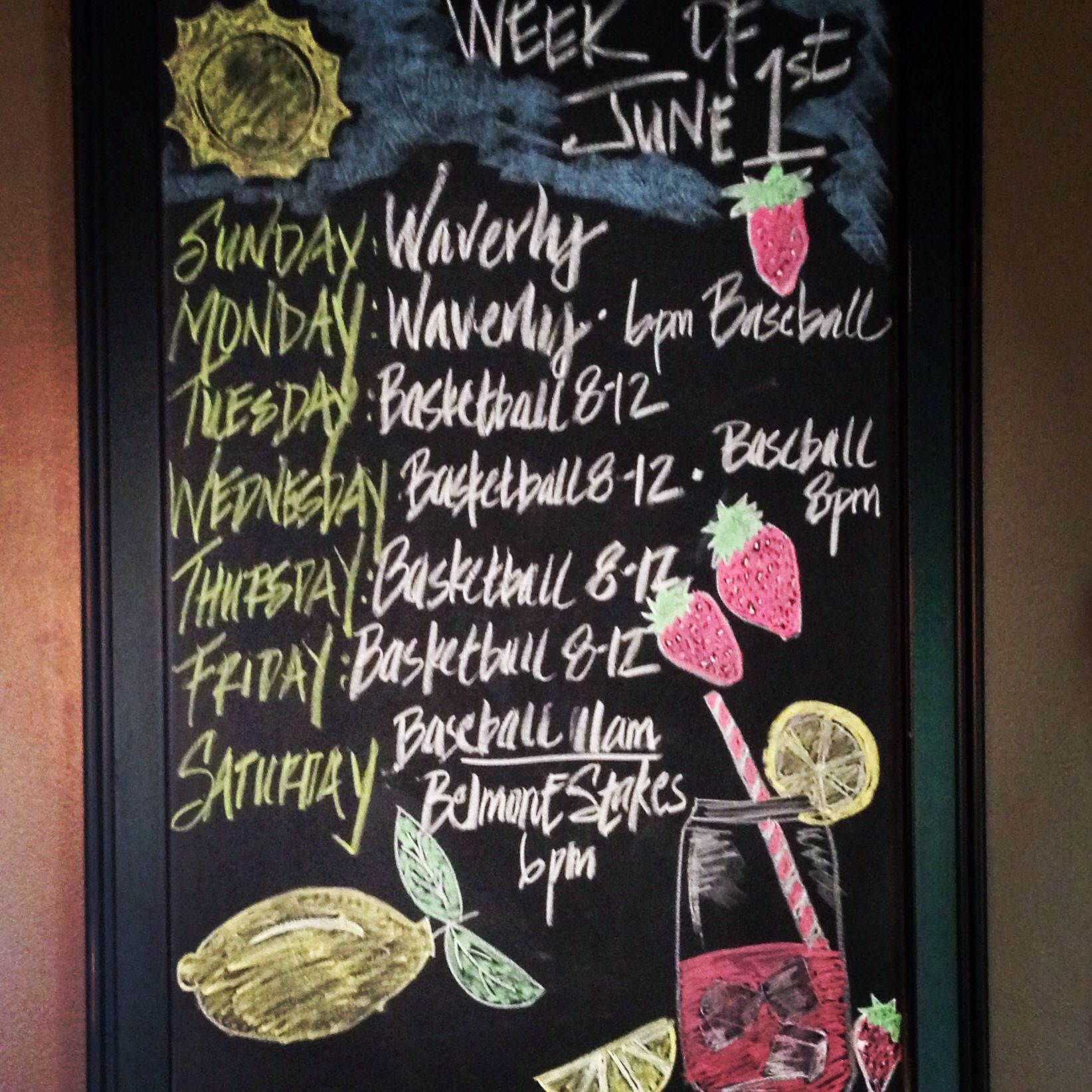 Chalkboards 1St Week Of Summer Break Finally June