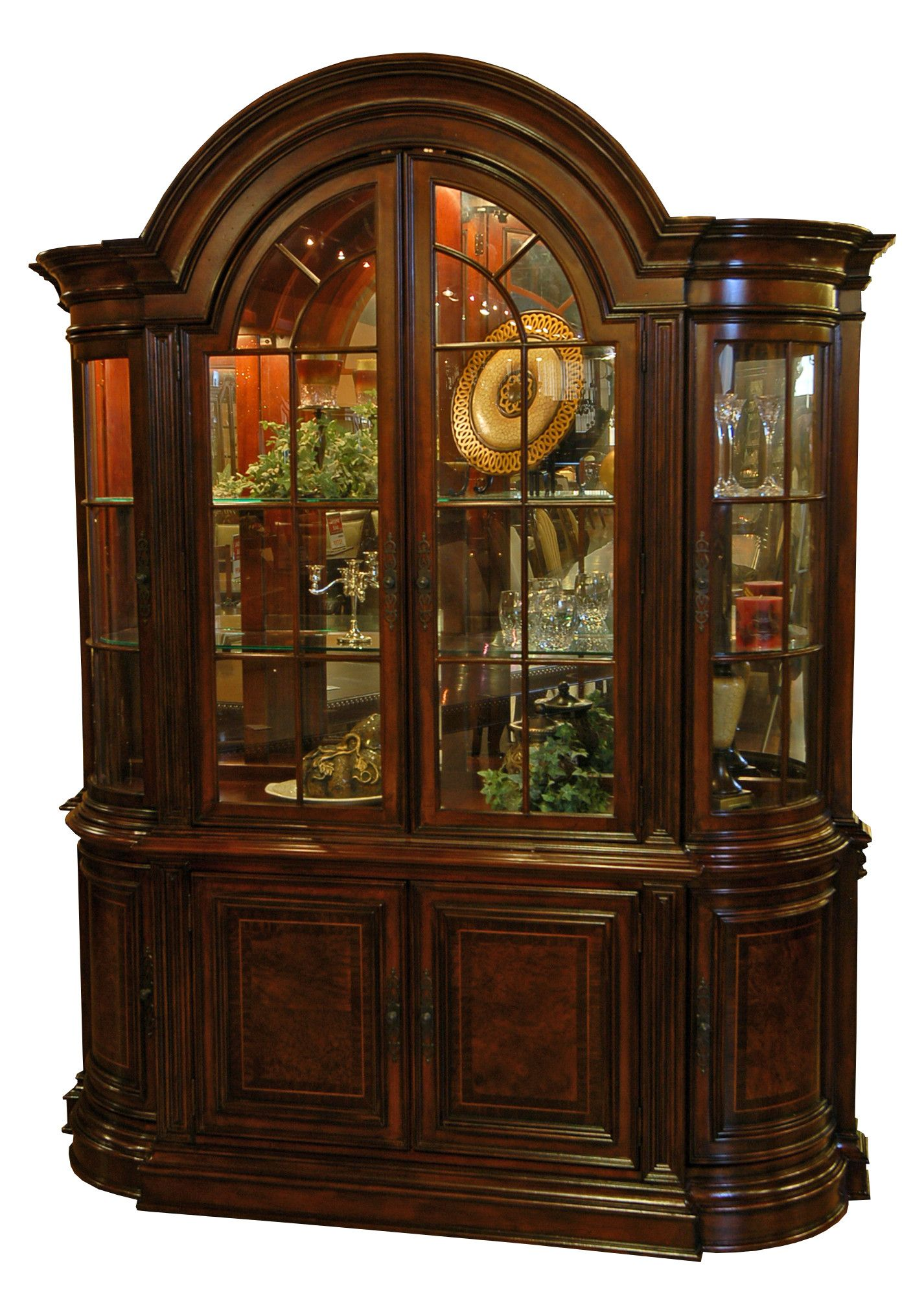 Dining Room Buffet and Hutch China Cabinet