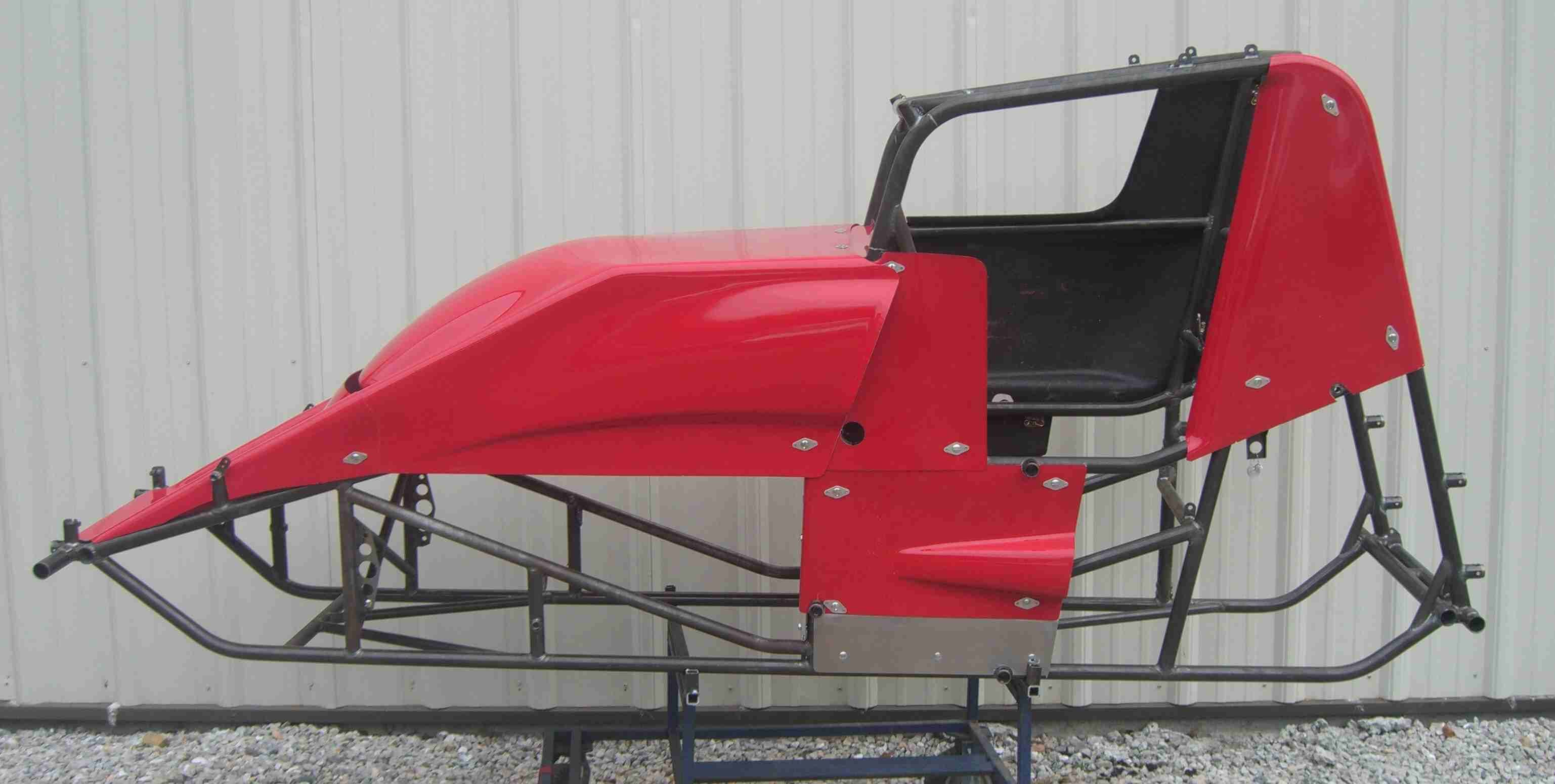 Shark Motor Sports Sprint Car Chassis Supermodifieds And