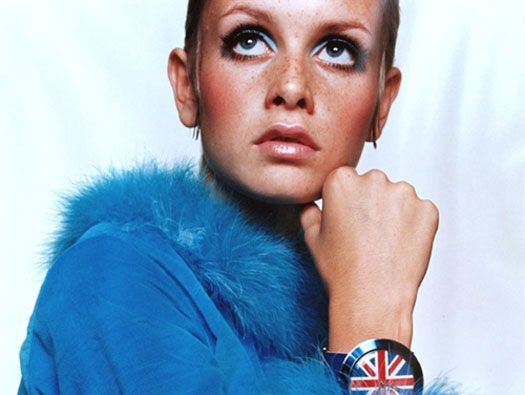 Lesley Lawson, widely known by the nickname Twiggy, is an English model, actress, and singer. In the mid 1960s she became a prominent British teenage model of swinging sixties London with others such as Penelope Tree.