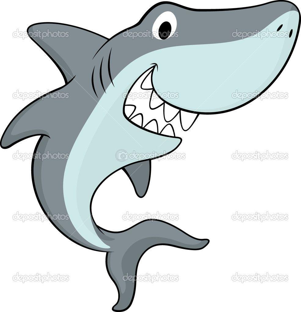 dibujos de tiburones infantiles - Buscar con Google | El mar ...
