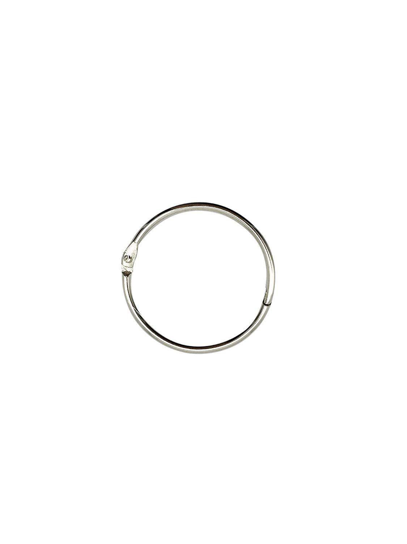 Loose Leaf Binder Rings 1 Inchi ˆ100 Packi Office Book Rings Nickel Plated Steel Binder Rings Key Rings Metal Bo Book Rings Loose Leaf Binder Binder Rings